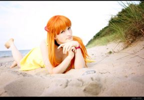 NGE - Beach by aco-rea