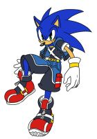 Sonic Kindgom Hearts Style by ss2sonic