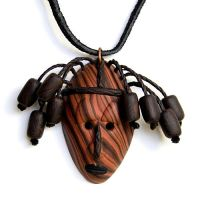 African Tribal Mask 'Ndugu' by FauxHead