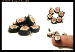 Sushi Charms by Abraxnis