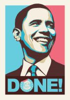 Barrack Obama by donedazzit