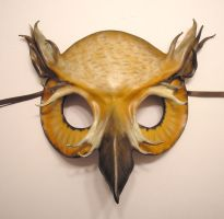 Leather Owl Mask by teonova