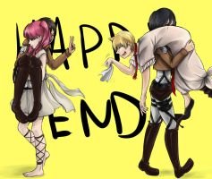 Happy End by InsanitylittleRed