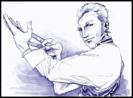 FF12: Balthier by brainleakage