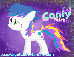 Confy Patch - My Little Pony OC by JazSwagEliz
