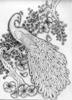 Traditional Peacock by BeOpposed