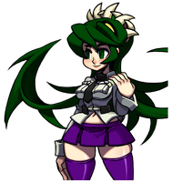 SkullGirls Filia Portrait Palette by CaliburWarrior