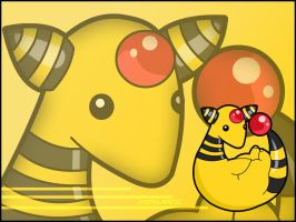 Ampharos Wallpaper by Wakki