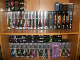 Doctor Who DVDs UPDATED by Moon-manUnit-42