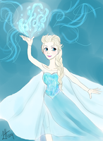 The Ice Queen Elsa by LuciaHane