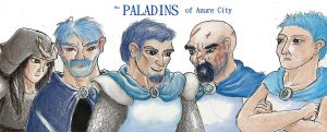 The Paladins of Azure City by Afalstein