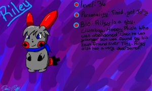 Riley the Plusle by TE-Lightning