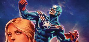 ODYSSEY tease JIM STERANKO and STANLEY ARTGERM LAU by DeevElliott