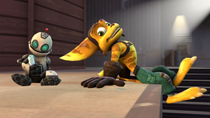 [SFM] Ratchet and Clank Test by MaikSan