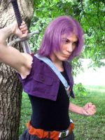 Trunks movie 9 cosplay by adambomb7