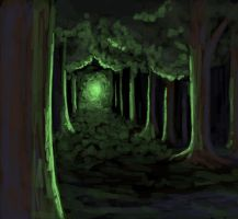 Green Glade by GlamourKat