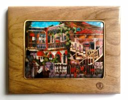 Old Tbilisi 550$    . by likaart