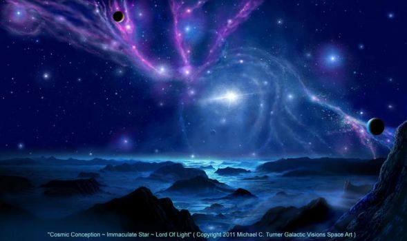 Cosmic Conception  Immaculate Star Lord Of Light by AstroBoy1