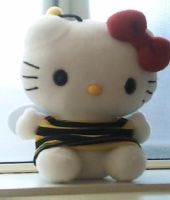 Hello kitty Plushie by princesszelda224