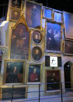 hogwarts school paintings well some of . by Sceptre63