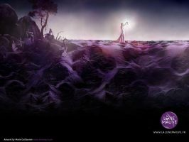 La Lune Mauve wallpaper 2 by kReEsTaL