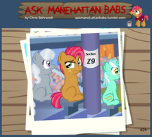 Ask Manehattan Babs #24 by wildtiel