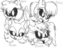 Sonic Apocalypse Concept: The First Four Victims by srlOctober23
