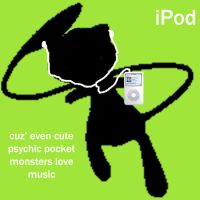 Mew iPod AD by franky-KC