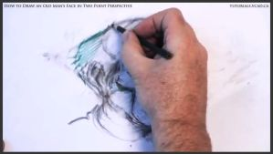 Draw An Old Man's Face In Two Point Perspective 29 by drawingcourse