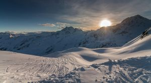 Sunset in the Alps by DeejayMD