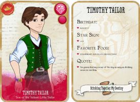 Timothy Tailor Character Card by AlyssaTolensky