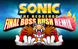 Sonic Final Boss Rush ReMIX logo by AaronProductions