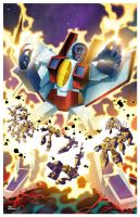 Marvel US TF 50 Botcon Print by dyemooch