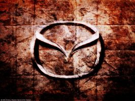 Mazda Wallpaper by RedAndWhiteDesigns