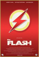 The Flash - Film Poster by Al-Pennyworth