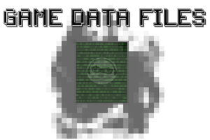 Game Data Files! New Logo! by ArcoTheOshawott