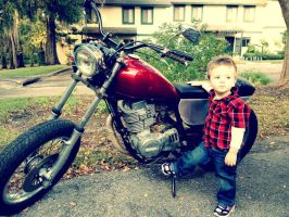 Motorcycle by JustinTyme44