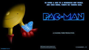 Pacman Fanart Poster - TYPE B by Atariboy2600