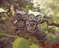 Mr. + Mrs. Owl by Madhouse-Customs