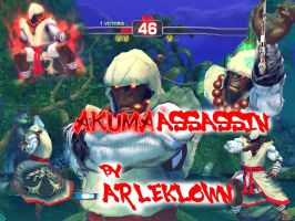 SSF4:AE MOD AKUMA ASSASSIN by arleklown