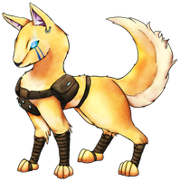 Soldier the Blink Dog by pinafta1