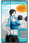 Wii fitness DVD by supersaiyan2scooby