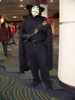 Megacon 2010- V by Fruits-Punch-Samurai