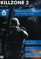 TheGamersMagazine Cover by TheZeis