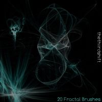 Gimp Fractal Brushes by FrenchTeilhard
