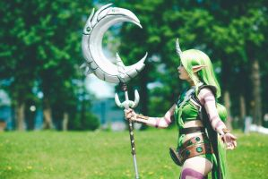 League of Legends - Dryad Soraka in the wild. by TineMarieRiis