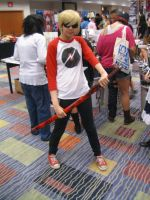 Mizucon 2011 Homestuck Dave by IrashiRyuu