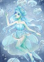 Jelly fish by NeliaViola