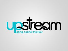 Upstream Logo - Blue by artjective