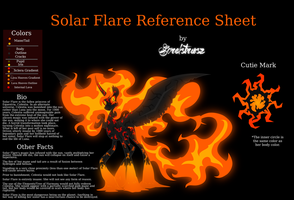 Solar Flare Reference Sheet by Sorelstrasz